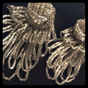 Pretty Vintage Beaded Statement Earrings